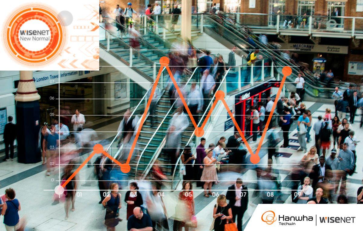 A Hanwha Techwin evolui para oferecer soluções para uma nova normalidade mais produtiva