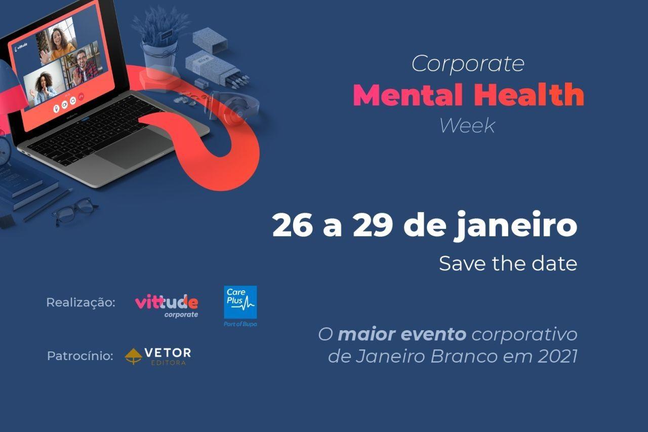 Saúde mental nas empresas é tema de evento online e gratuito