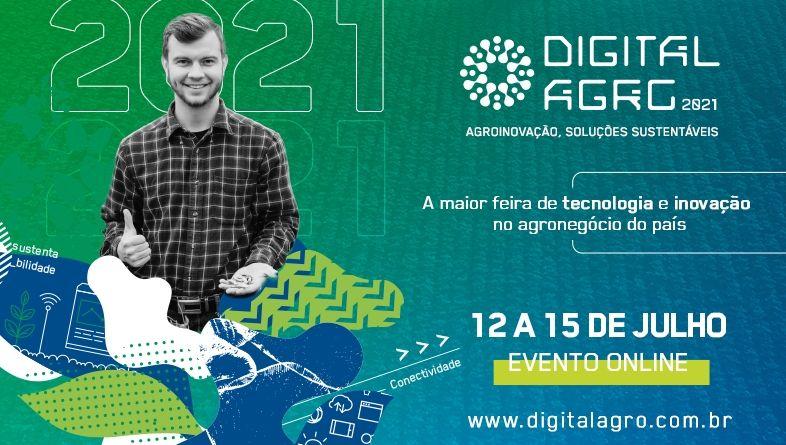 """Palestra """"O Futuro dos Alimentos"""" é atração da Digital Agro 2021"""