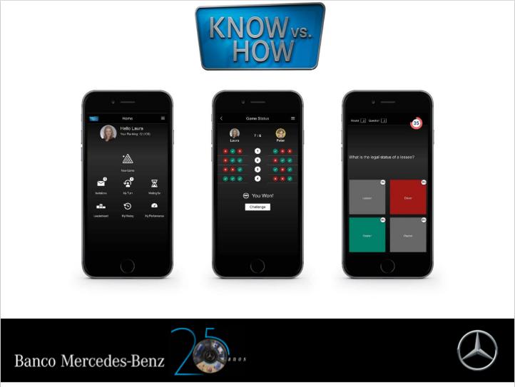 Banco Mercedes-Benz promove game para rede de concessionários