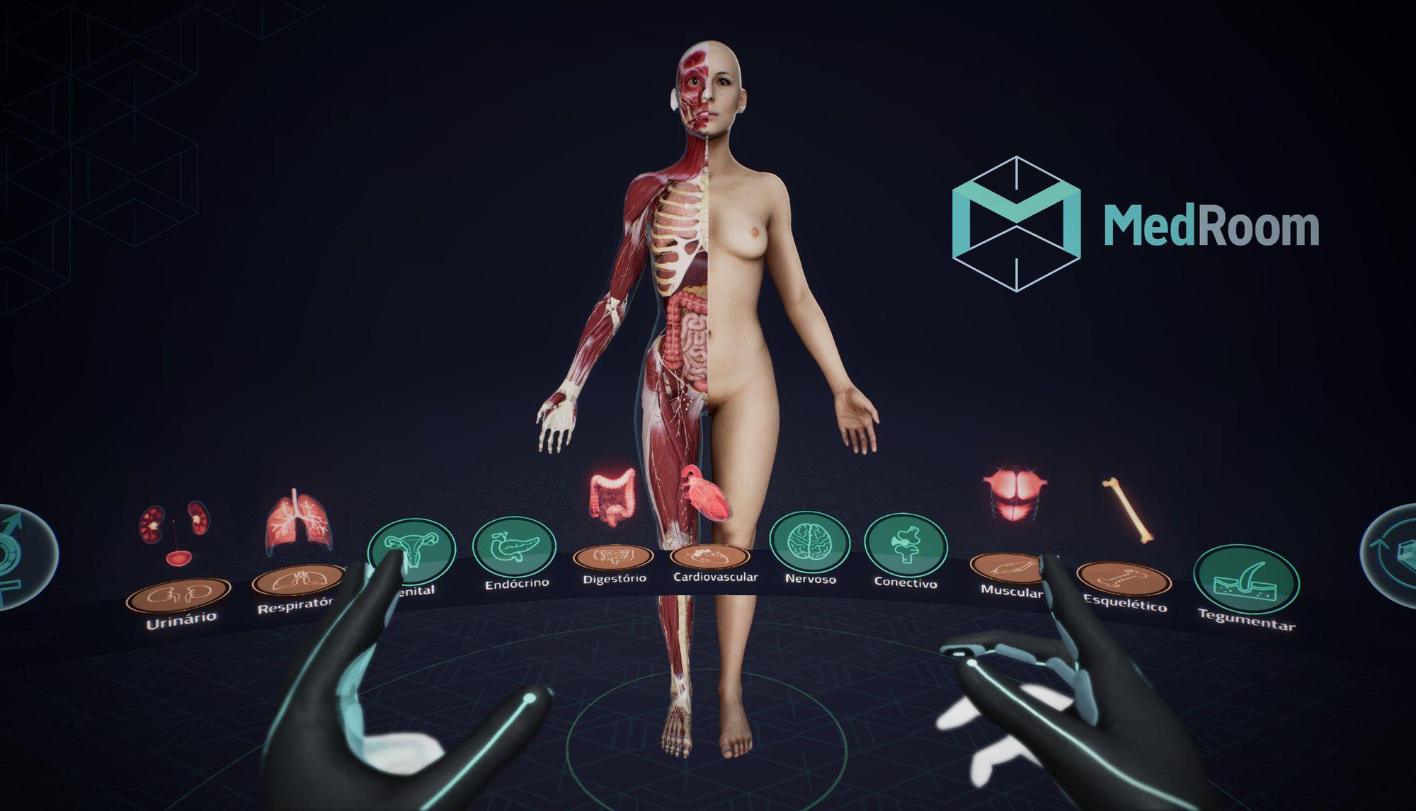 MedRoom trabalha com modelagem 3D nas universidades para evitar erros médicos